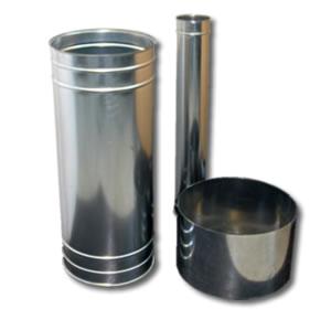 Componenti per impianti di aspirazione: Tubi condotte circolari